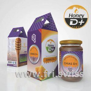 Mjaltë e pastër me fara Chia