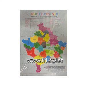 Enigmë - Harta e Kosoves